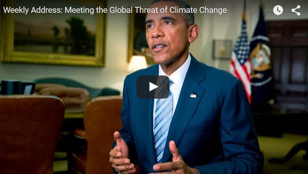 Presidential Weekly Address:  Meeting the Global Threat of Climate Change