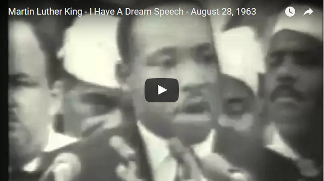 "Martin Luther King's ""I Have A Dream"" Speech"