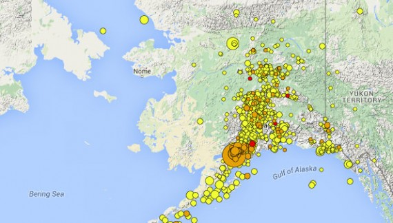 Details Of Magnitude 7.1 Iniskin Earthquake ~ By Ian Dickson Alaska Earthquake Center