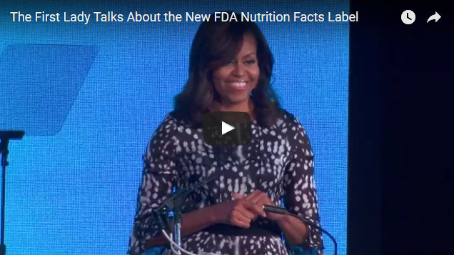 FDA Modernizes Nutrition Label For Packaged Foods
