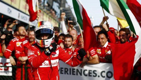 The Passion Is Back In F1 As Ferrari's Vettel Takes Australian Grand Prix