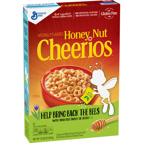 Honey Nut Cheerios Calls on Consumers to Plant 100 Million Wildflower Seeds to Support Pollinator Conservation