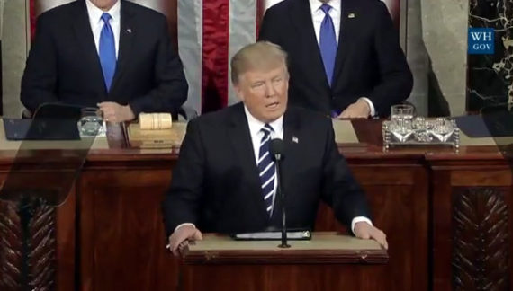 President Donald Trump's Address To A Joint Session Of Congress
