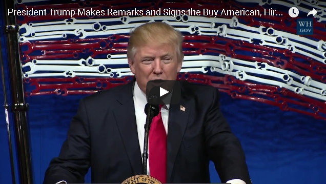 Remarks by President Trump At Snap-On Tools on Buy American, Hire American Executive Order