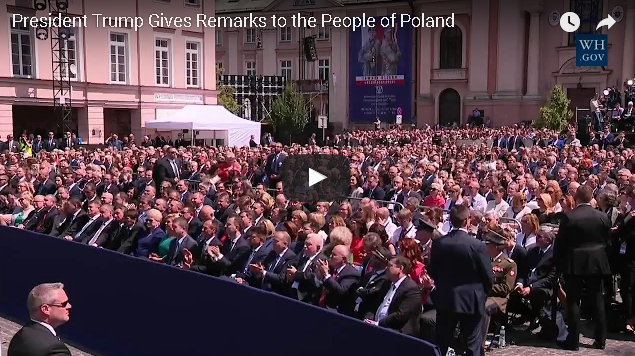 Remarks by President Trump to the People of Poland, July 6, 2017