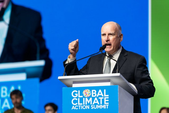 "Governor Brown Closes Global Climate Action Summit: ""We're Launching Our Own Damn Satellite"""