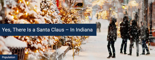 Yes, There is a Santa Claus…In Indiana