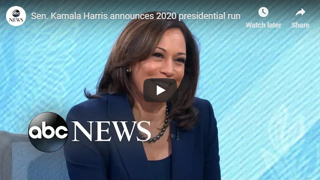 Senator Kamala Harris Announces White House Run