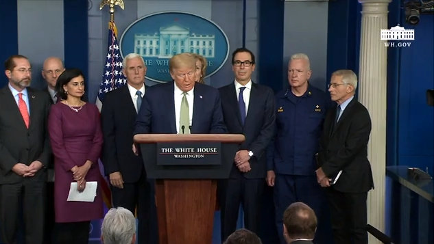Remarks by President Trump, Vice President Pence, and Members of the Coronavirus Task Force in Press Briefing